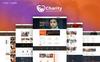 Charity : Crowd Fund, Non Profit Website Template Big Screenshot