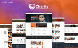 Charity : Crowd Fund, Non Profit Website Template
