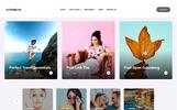 Tema de WordPress para Sitio de Arte y Cultura