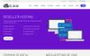 Szablon strony www My Cloud #73539 Duży zrzut ekranu