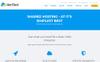 Host Cloud Website Template Big Screenshot