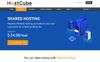 """Responzivní Šablona webových stránek """"HostCube WHMCS"""" Velký screenshot"""