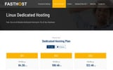 Szablon strony www Fasthost - Web and Domain Hosting #77188
