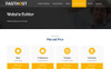"""""""Fasthost - Web and Domain Hosting"""" Website template Groot  Screenshot"""