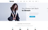 Stream - Dynamic Financial Adviser Multipage HTML Template Website Template Big Screenshot