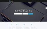 "Website Vorlage namens ""Stream - Dynamic Financial Adviser Multipage HTML Template"""