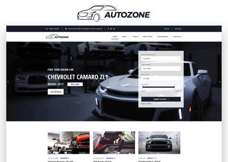 Auto Dealer Bootstrap HTML5