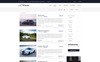"""Autozone - Auto Dealer Bootstrap HTML5"" Responsive Website template Groot  Screenshot"