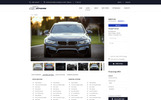 Responsywny szablon strony www Autozone - Auto Dealer Bootstrap HTML5 #68156