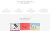 Consent - Digital Agency HTML5 Landing Page Template Big Screenshot