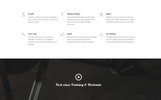 Thunder - Fitness & Gym HTML5 Landing Page Template
