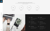 Responsivt Cubic - Web Design Agency HTML5 Landing Page-mall