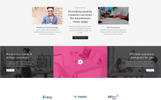 Responsivt Medium - Web Agency HTML5 Landing Page-mall