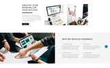 Spark - Creative Agency Responsive Multipage Website Template