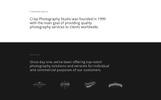 "HTML шаблон ""Crisp - Vivid Designer Portfolio Multipage"""