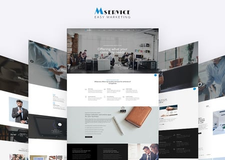 Corporate Multipage HTML5