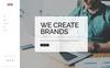 """Responzivní Šablona mikrostránek """"Uprise - Business HTML5"""" Velký screenshot"""