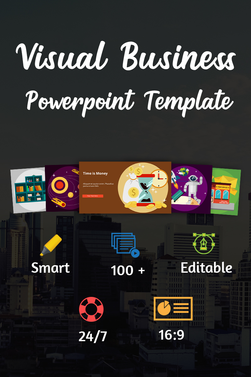 Visual Business Point Template