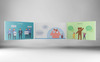 Happy People Infographic PowerPoint Template Big Screenshot