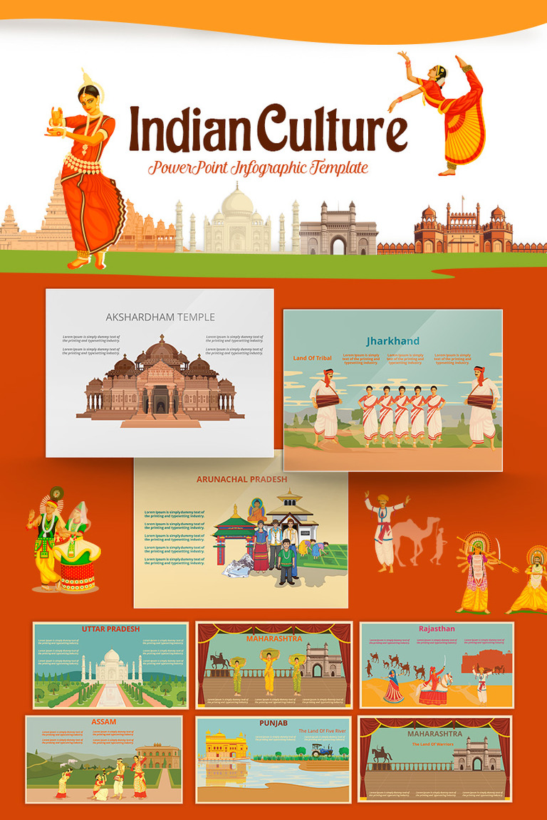 Indian culture powerpoint template 71433 indian culture powerpoint template big screenshot toneelgroepblik Gallery