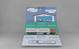"""""""Logistics Infographic Set"""" modèle PowerPoint"""