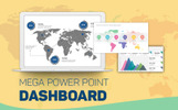 """Mega Dashboard Creator"" PowerPoint Template"