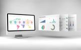 Szablon PowerPoint Mega Dashboard Creator #71446