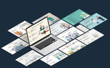 Mega Business Infographic Set PowerPoint Template