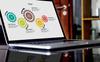 """PowerPoint Vorlage namens """"Chart & Strategy"""" Großer Screenshot"""