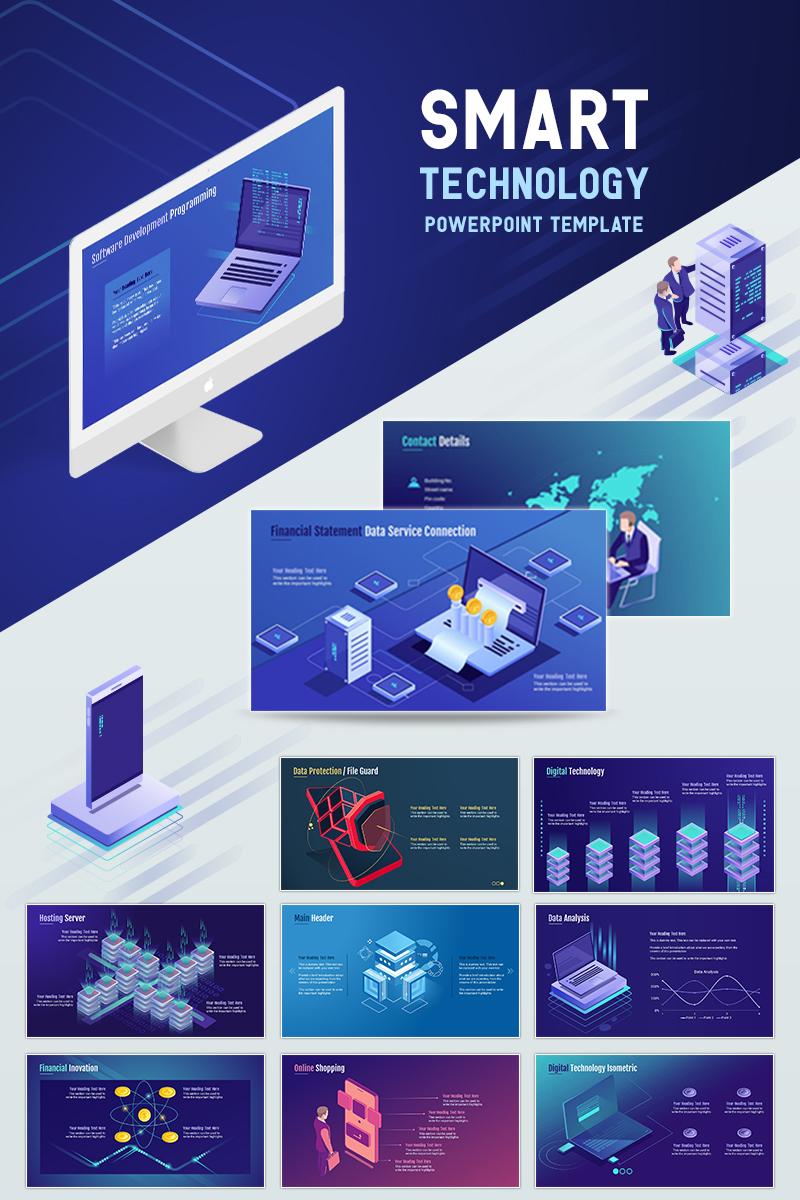 smart technology powerpoint template 71903
