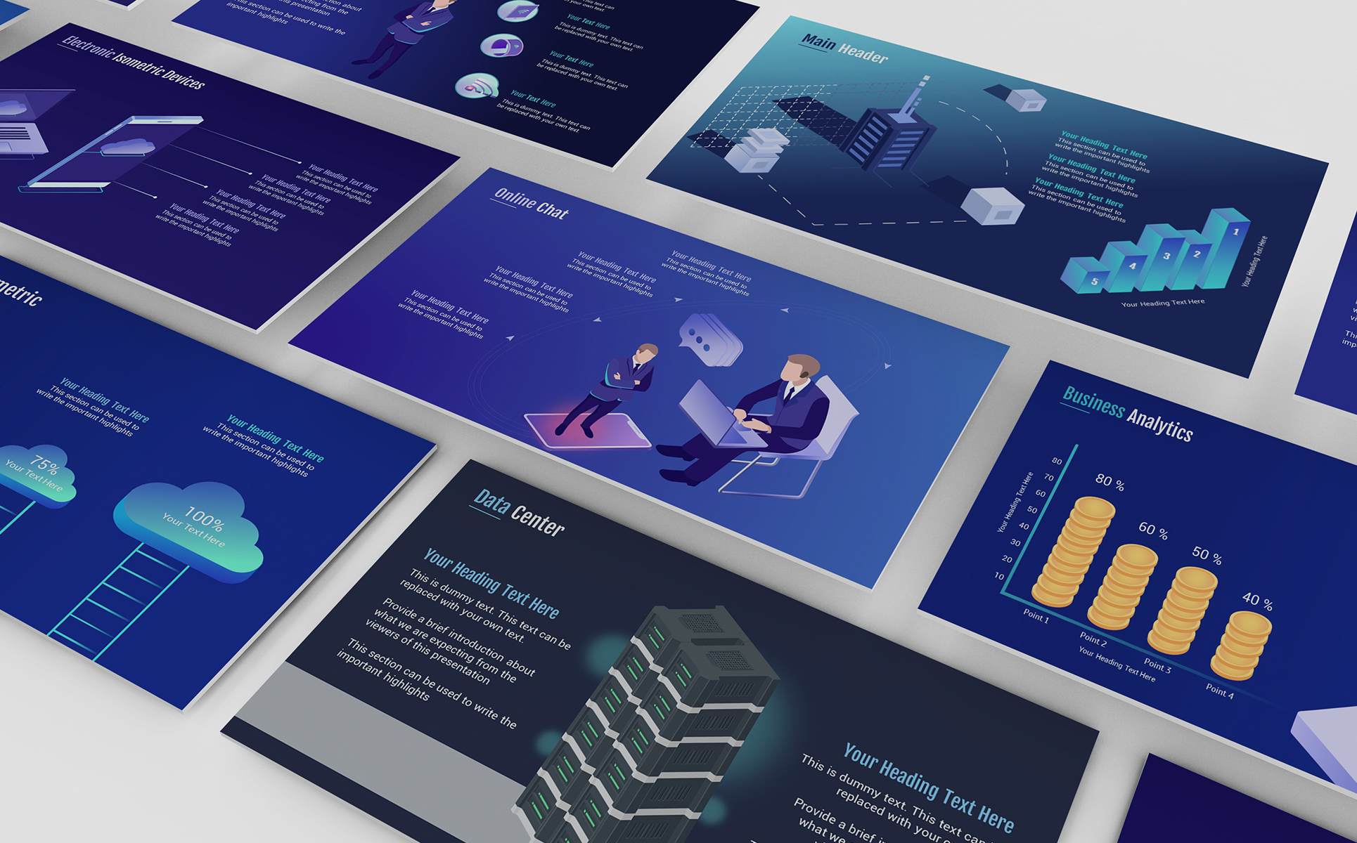 Smart Technology Powerpoint Template 71903