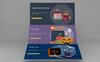 Creative Life - Infographic PowerPointmall En stor skärmdump