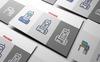 Smart Flat Presentation PowerPoint Iconset-mall En stor skärmdump