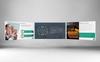 Modern Case Study - PowerPoint Template Big Screenshot
