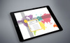 Smart World Map Infographics PowerPoint Template Big Screenshot