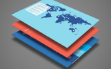 Smart World Map Infographics PowerPoint Template