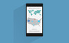 Flat - Smart Phone PowerPoint Template Big Screenshot