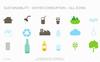 Environment Water Consumption PowerPointmall En stor skärmdump