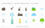 Environment Water Consumption PowerPointmall