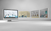 Industry Automation PowerPoint Template Big Screenshot