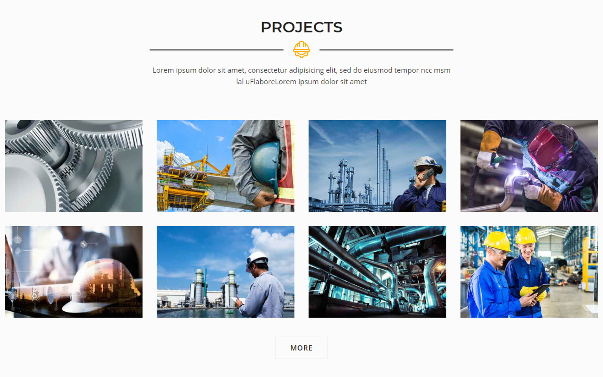 Tractour - Industrial / Manufacturing WordPress Theme