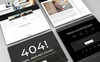 Black Digital - Creative Multipurpose Agency Website Template Big Screenshot