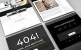 Black Digital - Creative Multipurpose Agency Website Template