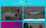 Hiluxx - Parallax Multipurpose Landing Page Template
