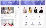 Plantilla Web para Sitio de Tecnología de la información