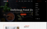 Cefrax - Restaurant and Cafe Landing Page Template