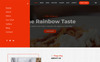 Cefrax - Restaurant and Cafe Landing Page Template Big Screenshot