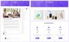 """""""Amava - Startup Agency and SasS Business"""" modèle web adaptatif Grande capture d'écran"""