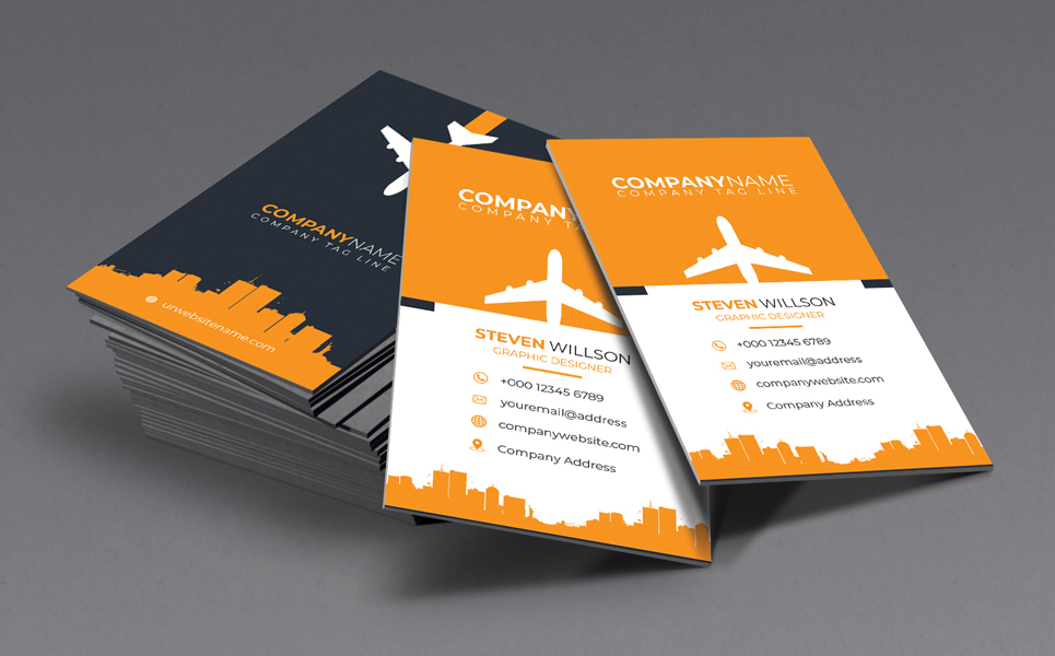 Professional Business Cards Psd Template 73615