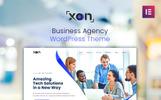 Xon - Business Agency WordPress Theme WordPress Theme